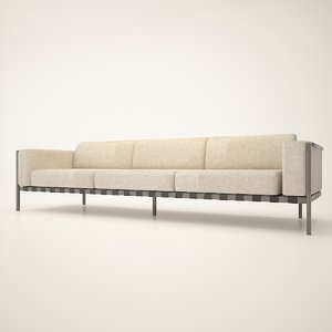 sofa modelling 3D model