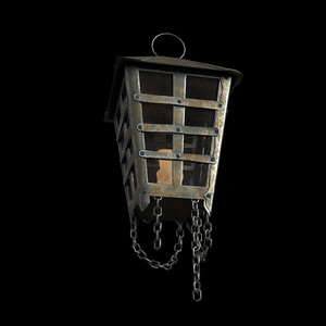 old hanging lamp model