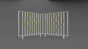 railing 3D model