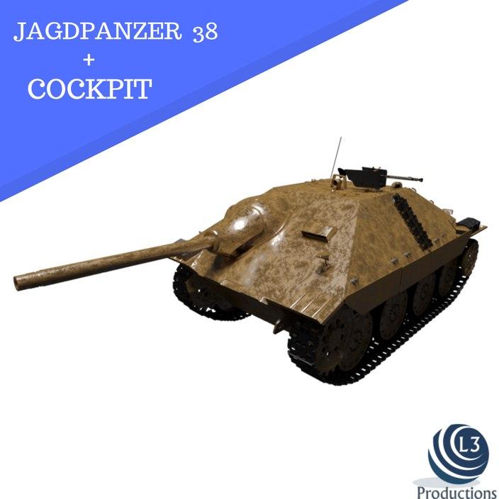 jagdpanzer 38 t hetzer model