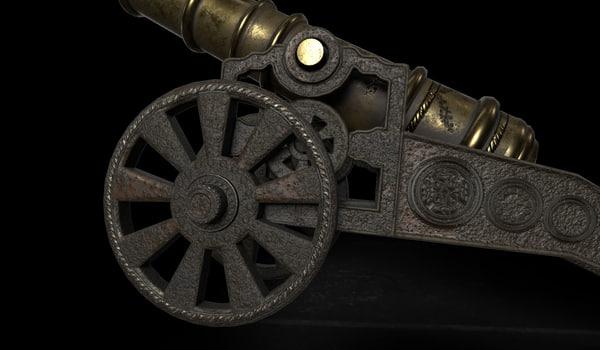 3D signal cannon
