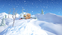 3D snow house model