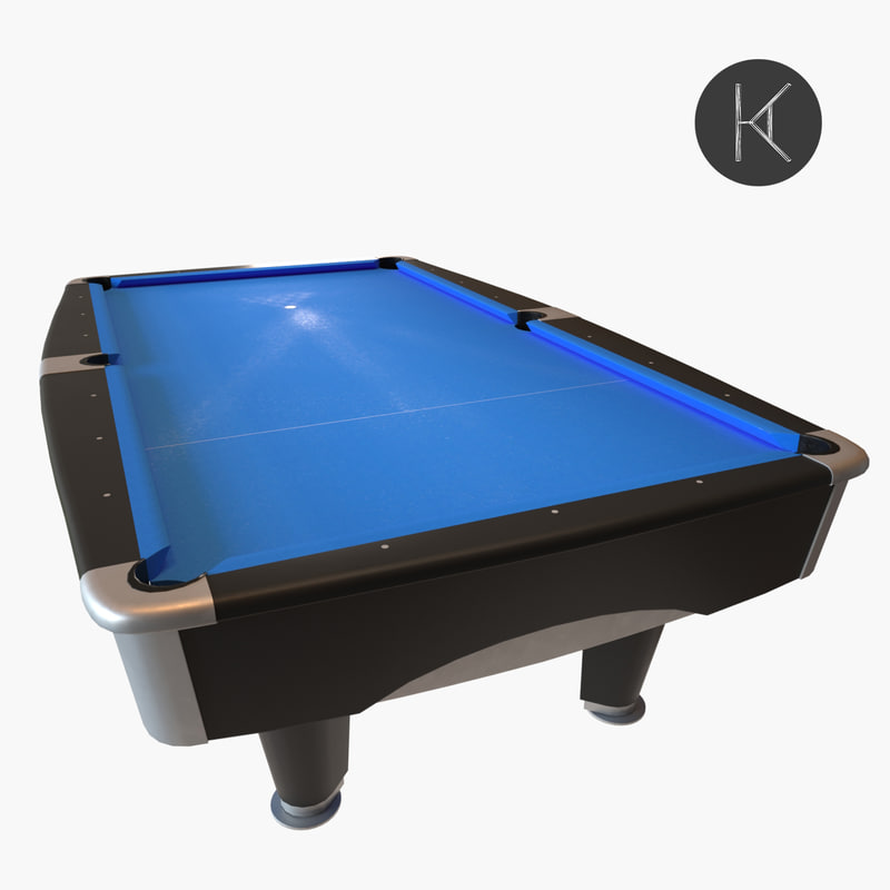 3D model brunswick metro pool table