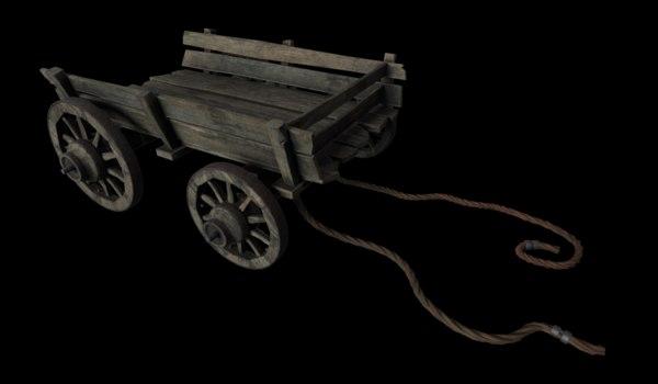 old barrow 3D model