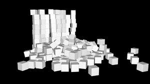 3D trash garbage model