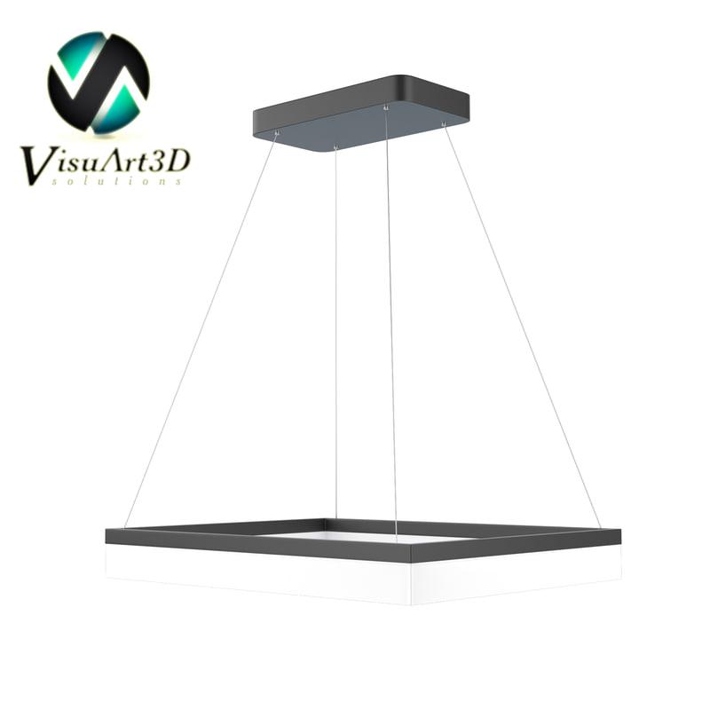 3D led light model