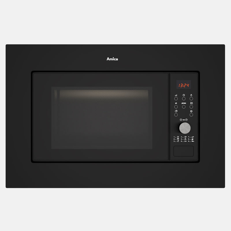 amica amgb20e2gb microwave 3D model
