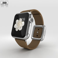 apple watch stainless 3D model