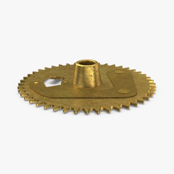 clock-gears-03---gear-v3 3D model