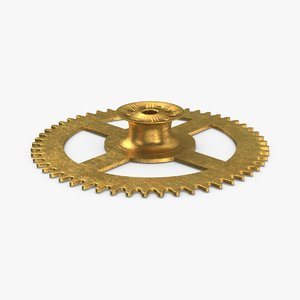 clock-gears-03---gear-v4 3D model