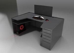 3D gaming setup
