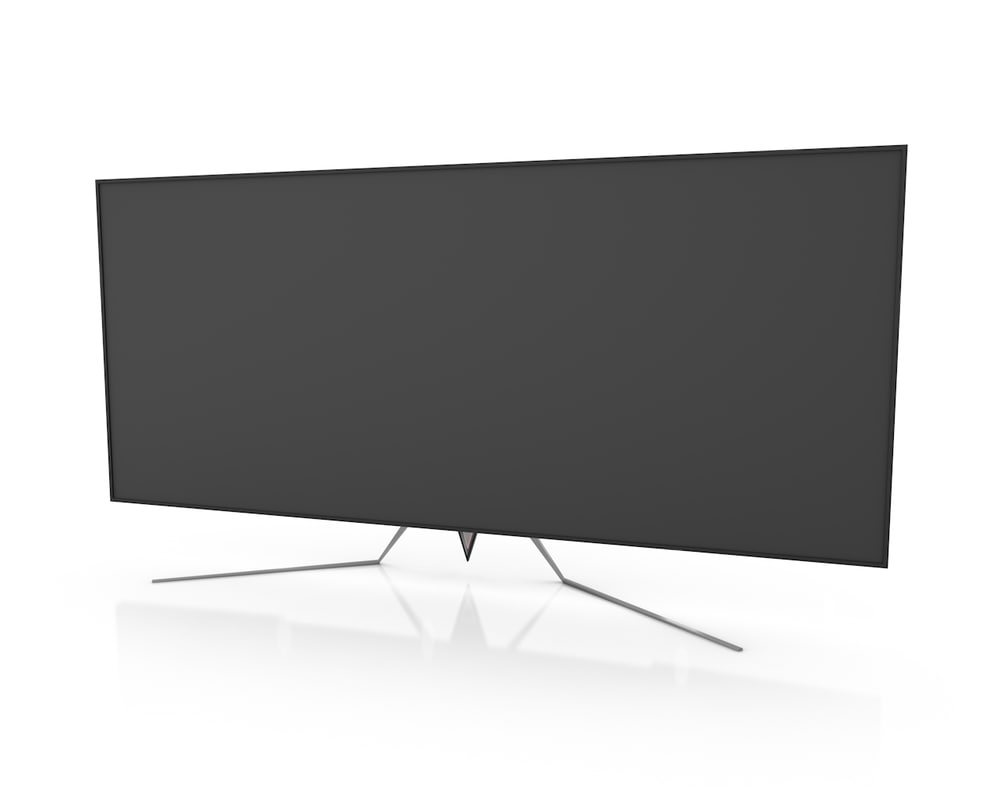 ultrawide gaming monitor 3D model