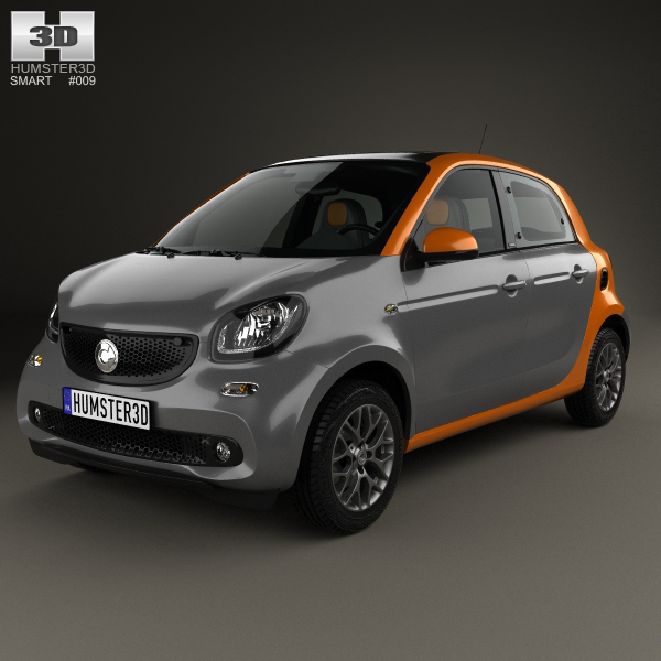 smart forfour 2014 model