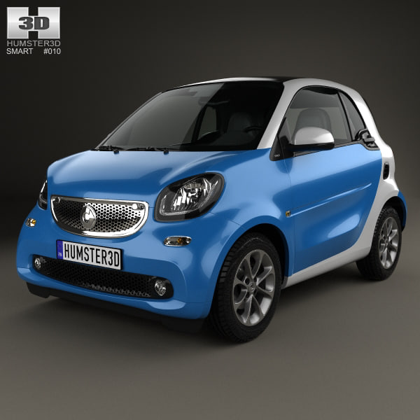 smart fortwo 2014 3D