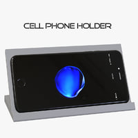 cell phone holder device 3D model
