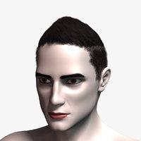 3D hair cards 2