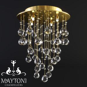 maytoni modern rockfall mod207-35-g 3D model