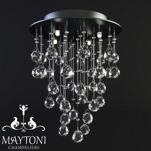 3D maytoni modern rockfall mod207-35-n