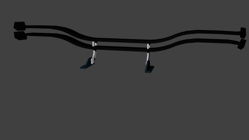 wing spoiler 3D