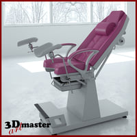 medical gynecological chair model