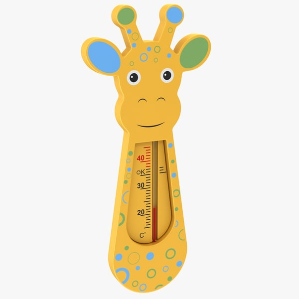 3D baby thermometer