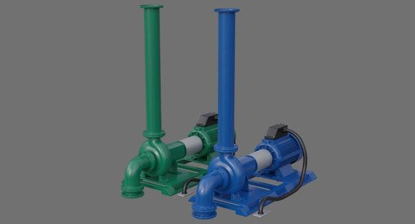 water pump 2a 3D model
