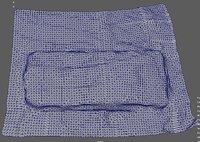 3D old mattress model