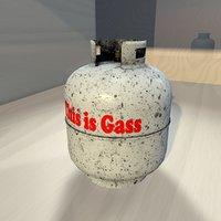 Dirty Gas Container