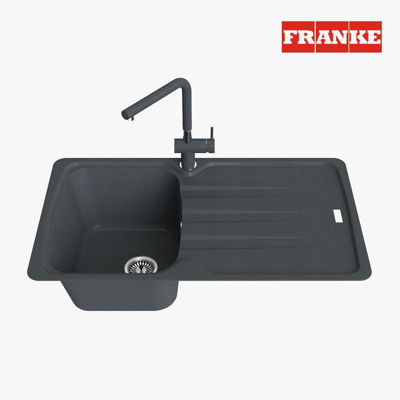 3D appliance faucet model