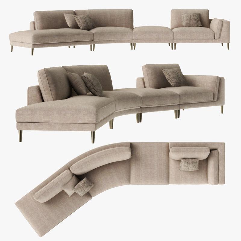 3D furniture modern model