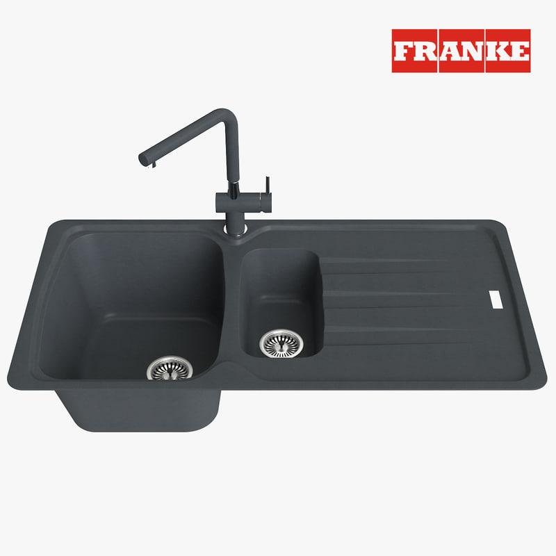 3D appliance faucet