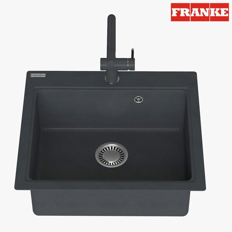 appliance faucet franke 3D model