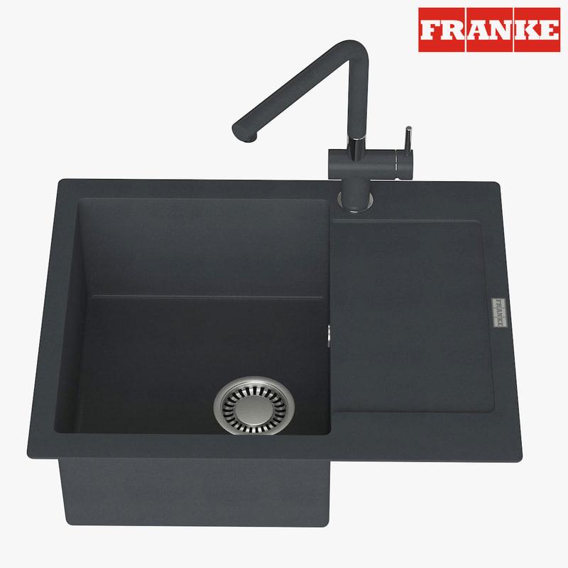 3D appliance faucet franke model