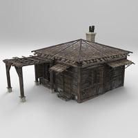 Medieval house fantasy 01
