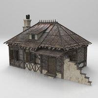 Medieval house fantasy 03
