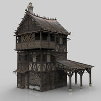 Medieval house fantasy 06