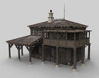 Medieval house fantasy 08
