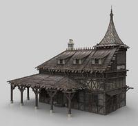 Medieval house fantasy 11