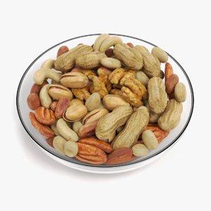 nuts bowl 3D