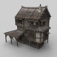 Medieval house fantasy 13