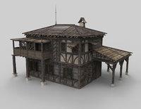 Medieval house fantasy 16
