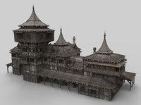 Medieval house fantasy 21