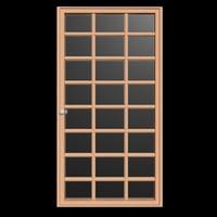 wooden door model