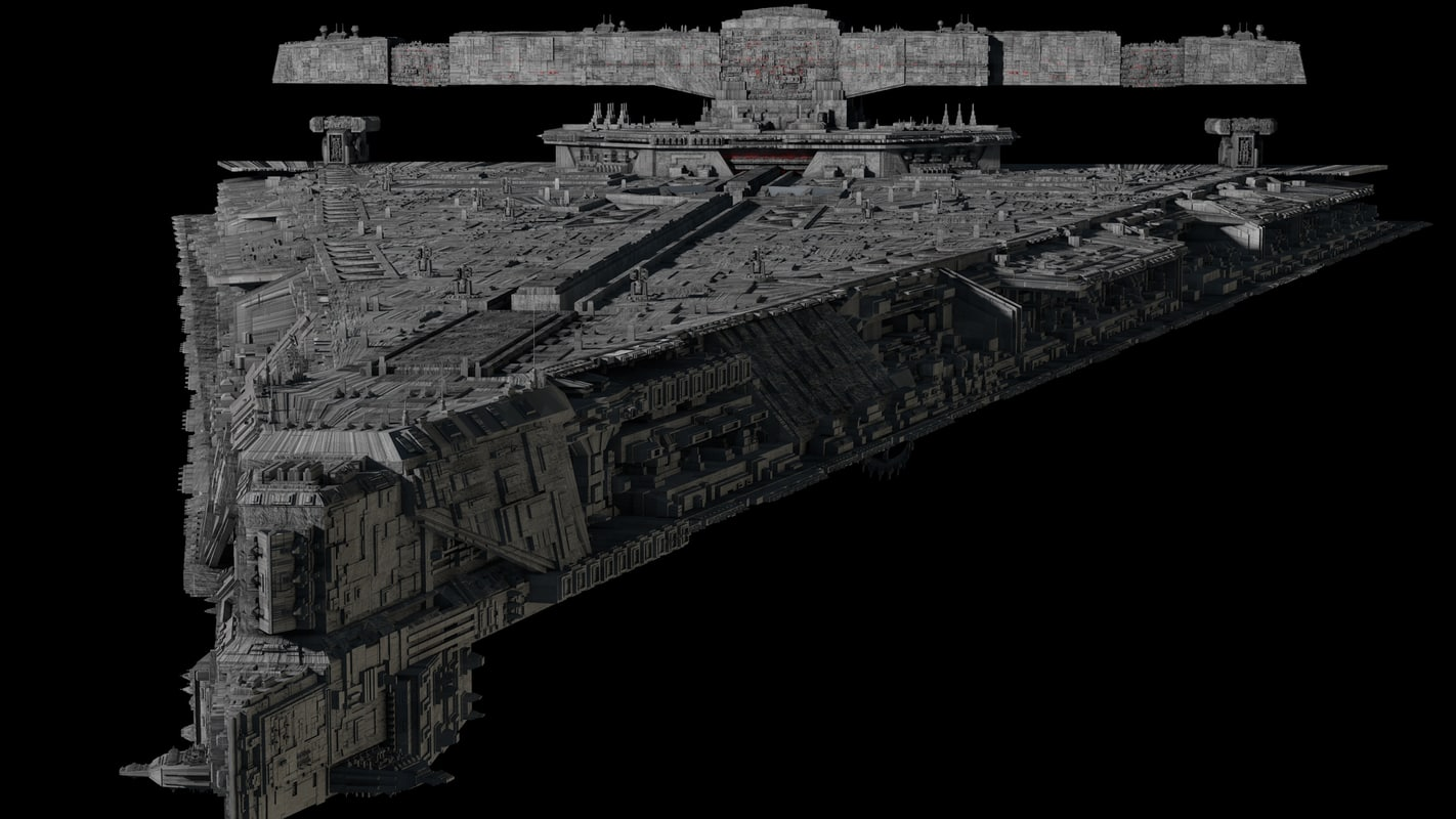 order dreadnought 3D model