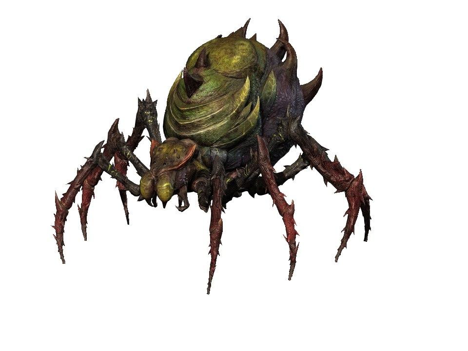 3D monster spider t