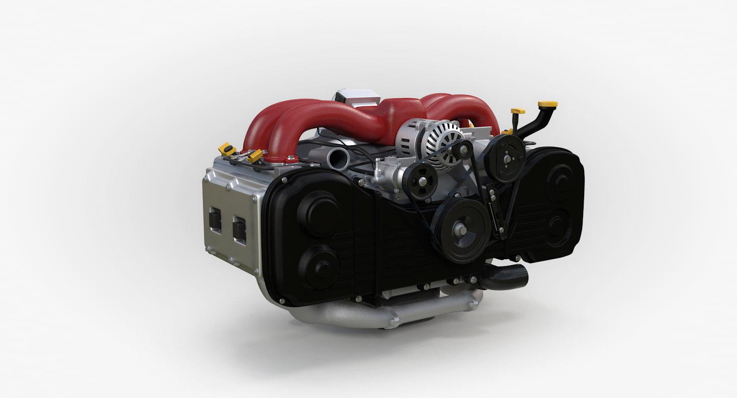 boxer engine model