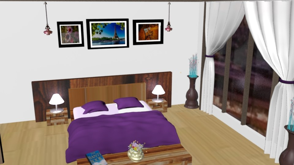 3D bedroom wardrobe table