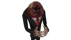 professional parasite 3D model