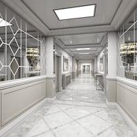 3D model corridor interior 2