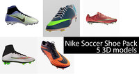 nike soccer shoe pack model